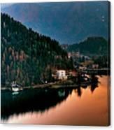 Lake Bled. Slovenia Canvas Print