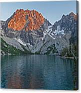 Lake Colchuck Sunset Canvas Print