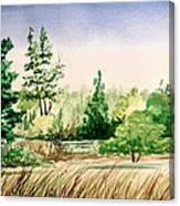 Lake County Landscape Canvas Print