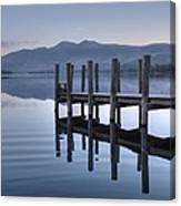 Lake District Jetty Canvas Print