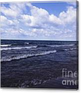 Lake Erie At Evangola State Park 2 Canvas Print