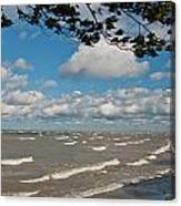Lake Erie Storm 2371 Canvas Print