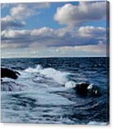 Lake Gitchee Gumee Canvas Print