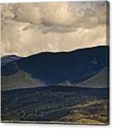 Lake Granby Rocky Mountain National Park Colorado Canvas Print