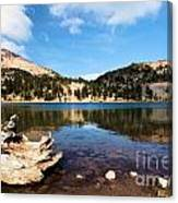 Lake Helen Reflections Canvas Print