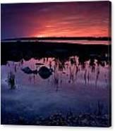 Lake Huron Sunset Canvas Print