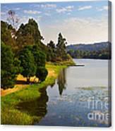 Lake Landscape Canvas Print