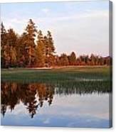 Lake Lila Sunset Canvas Print