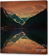 Lake Louise Abstract Canvas Print