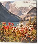 Lake Louise Alberta Canvas Print