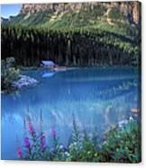 Lake Louise Banff Canada Canvas Print