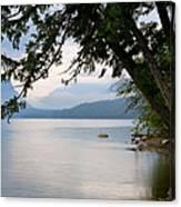 Lake Mcdonald Glacier National Park Montana Canvas Print