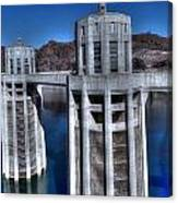 Lake Mead Hoover Dam Canvas Print