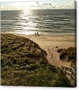 Lake Michigan Teens Canvas Print