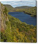 Lake Of The Clouds 4 Canvas Print