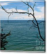 Lake Ontario Near Chimney Bluffs Canvas Print