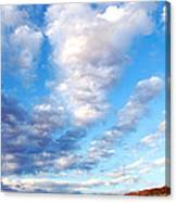Lake Powell Clouds Canvas Print
