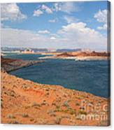 Lake Powell Landscape Panorama Canvas Print