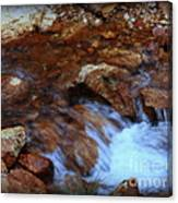 Lake Shasta Waterfall  Canvas Print