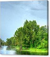 Lake Side  Canvas Print