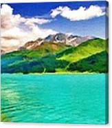 Lake Sils Canvas Print