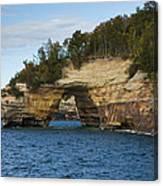 Lake Superior Pictured Rocks 17 Canvas Print