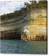 Lake Superior Pictured Rocks 8 Canvas Print
