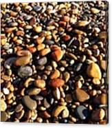 Lake Superior Stones Canvas Print