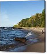 Lake Superior Union Bay 4 Canvas Print