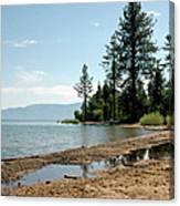 Lake Tahoe Beach Canvas Print