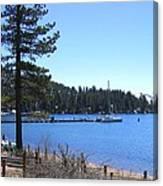Lake Tahoe Dock Canvas Print