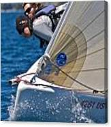 Lake Tahoe Regatta Canvas Print