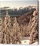 Lake Tahoe Snow Canvas Print