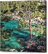 Lake Tahoe Swimming Hole Canvas Print