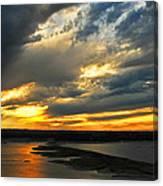 Lake Travis Reflections Canvas Print
