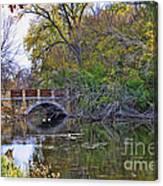 Lake Wingra Bridge Canvas Print