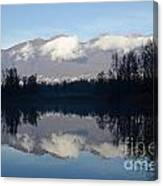 Lake With Mountain Canvas Print
