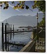 Lakefront Canvas Print