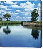 Lakeridge Duck Pond Canvas Print