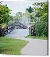 Lakes Park Canvas Print