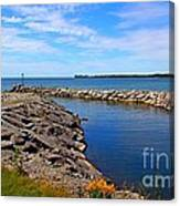 Lakeside Bend Canvas Print