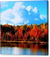 Lakeside Drama Ll Canvas Print