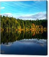 Lakeside Reflections Canvas Print