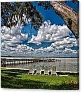 Lakeside View Canvas Print