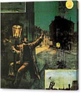 L'amant De La Lune Canvas Print