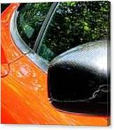 Lamborghini Mirror And Intake Canvas Print