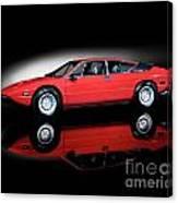 Lamborghini Urraco 1972 Canvas Print