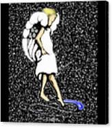 A Lamp Unto My Feet Canvas Print