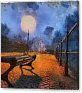 Lamplight Canvas Print