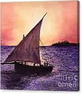 Lamu Kenya Canvas Print